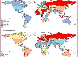 Proyección y Tendencia global en el uso del tabaco