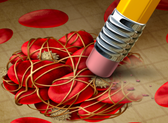 Bajas dosis de Rivaroxaban vs Aspirina en adición a un inhibidor de P2Y12, en síndromes coronarios agudos