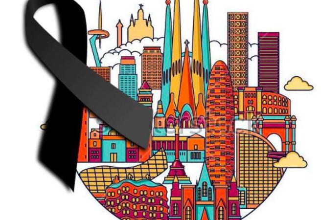 Barcelona, nuestro corazón está contigo
