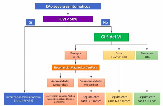 Evaluación de la disfunción ventricular izquierda en la estenosis aórtica severa