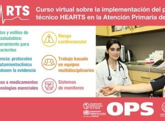 23 de julio del 2019 – Lanzamiento del Curso Virtual sobre la Implementación del paquete técnico HEARTS en la atención primaria de salud