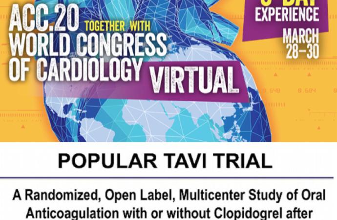 POPular TAVI: Anticoagulación con o sin Clopidogrel posterior a implante de válvula aórtica transcatéter (TAVI)