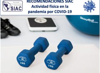 Recomendaciones de la Sociedad Interamericana de Cardiología sobre actividad física en la pandemia por COVID-19