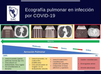 Por qué, cuándo y cómo usar la ecografía pulmonar en infección por COVID-19