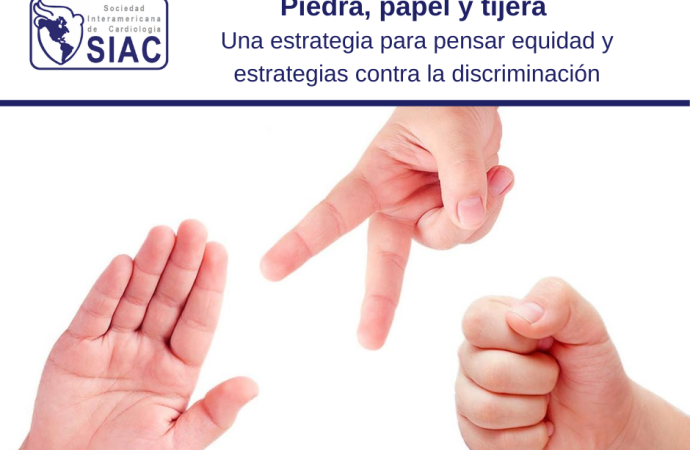Piedra, papel y tijera: una estrategia para pensar equidad y estrategias contra la discriminación