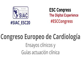 Congreso Europeo de Cardiología 2020