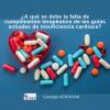 ¿A qué se debe la falta de cumplimiento terapéutico de las guías actuales de insuficiencia cardiaca?