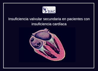 Insuficiencia valvular secundaria en pacientes con insuficiencia cardíaca