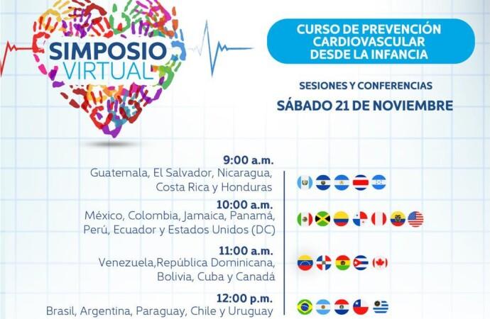 Curso de prevención cardiovascular desde la infancia