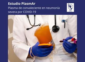 Estudio aletorizado de plasma de convaleciente en neumonía severa por COVID-19