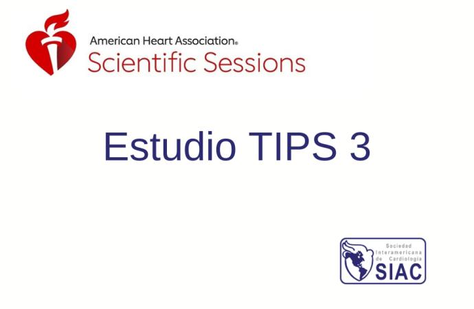 Uso de polipíldora y aspirina en pacientes sin enfermedad cardiovascular Estudio TIPS 3