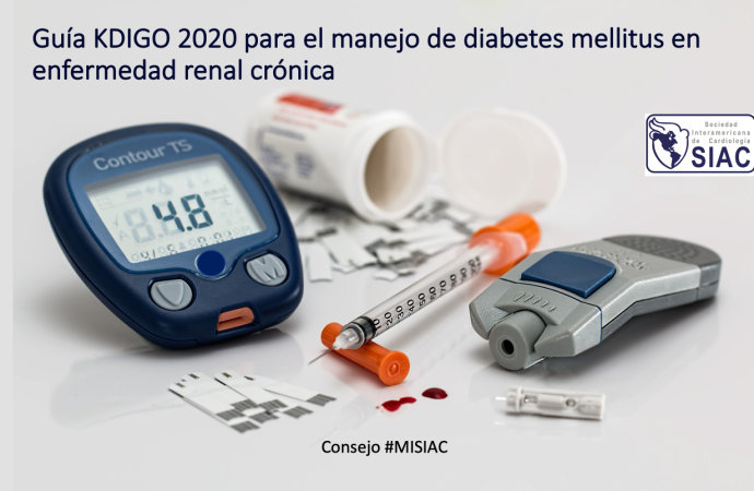 Guía KDIGO 2020 para el manejo de diabetes mellitus en enfermedad renal crónica