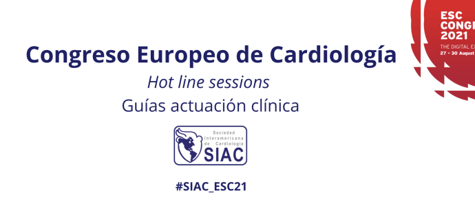 Congreso Europeo de Cardiología 2021