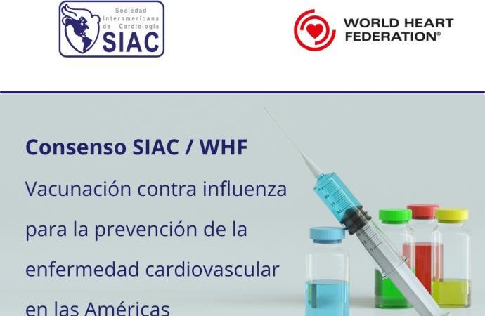 Vacunación contra Influenza para la Prevención de la Enfermedad Cardiovascular en las Américas