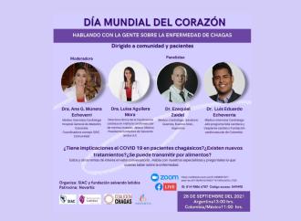 Día Mundial del Corazón  – Charla con la comunidad sobre Enfermedad de Chagas